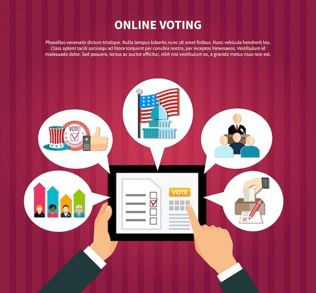 Votación en línea en las elecciones