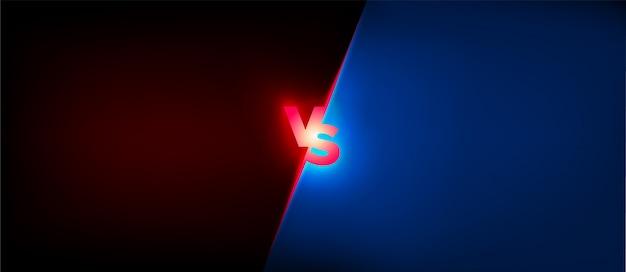 Vs gran diseño para cualquier propósito. concepto de batalla. enfrentamiento lucha competencia. logotipo de boxeo signo de conflicto partido de fútbol. competencia de fútbol. icono de torneo vs logo vector. versus concept