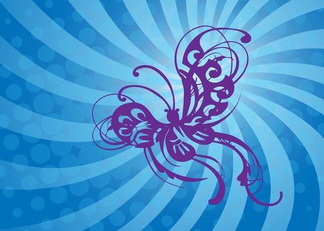Vuelo de la mariposa gráficos