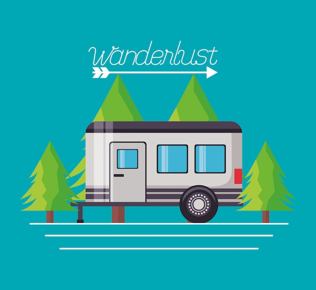 Wanderlust explore el paisaje