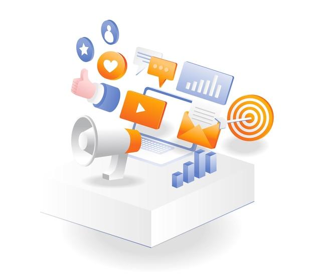 Webestrategia de marketing digital y gestión de redes sociales