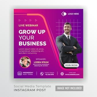Webinar en vivo agencia de negocios creativa