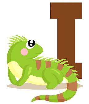 Yo por la iguana