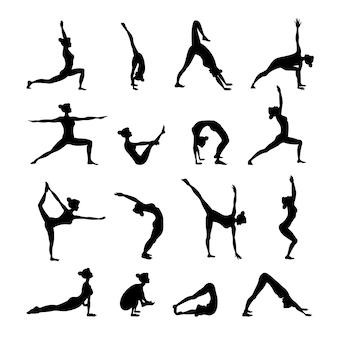 Yoga set negro