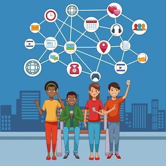 Youngs y redes sociales