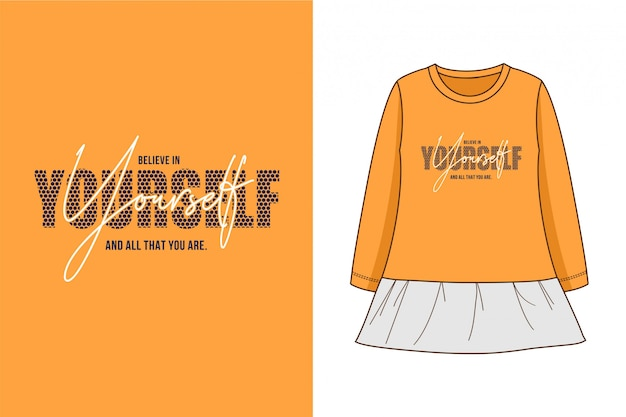 Yourself - camiseta estampada