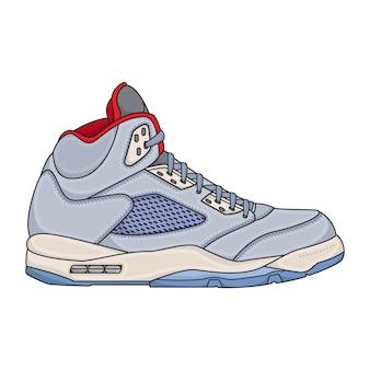 Zapatillas de baloncesto para hombre simple