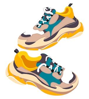 Zapatillas deportivas de moda para entrenar y hacer deporte.