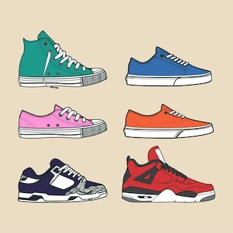 Zapatillas de zapatos de stock