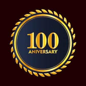 100 jahre jubiläumsabzeichen