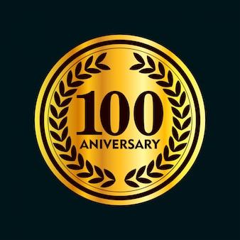 100 jahre jubiläumsausweise