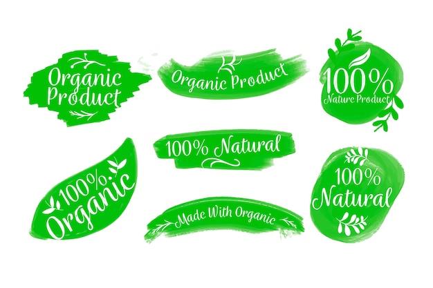 100% natürliche abzeichensammlung