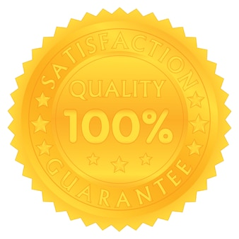 100 prozent garantieren zufriedenheitsqualität