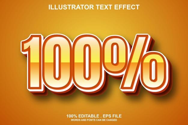 100 texteffekt editierbar