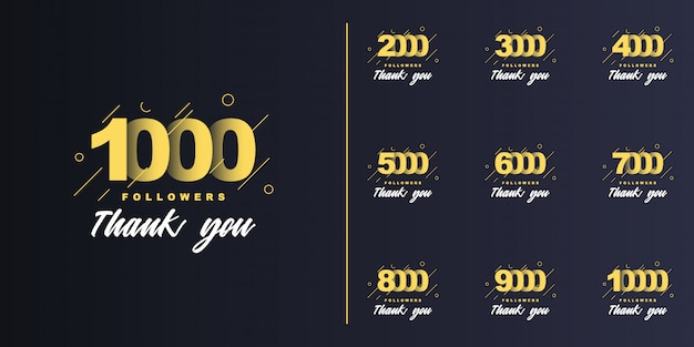 1000, 2000, 3000, 4000, 5000, 6000, 7000, 8000, 9000, 10000 follower danke eingestellt