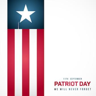 11. september patriot-tag in den usa