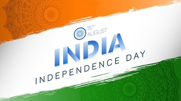 15. august, unabhängigkeitstag indiens