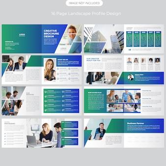 16 seite profil der unternehmenslandschaftsprofile