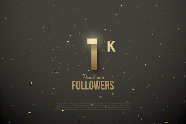 1k follower