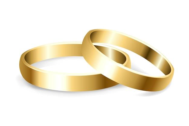2 goldene eheringe