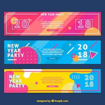 2018 neujahr banner