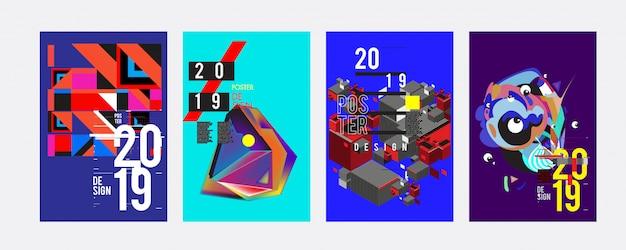 2019 designvorlage für poster