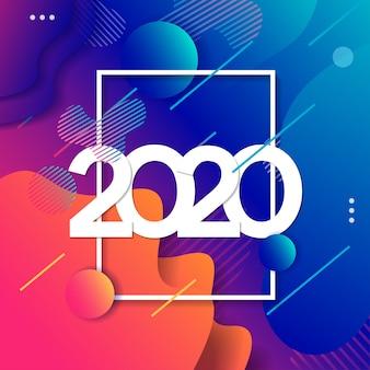 2019 guten rutsch ins neue jahr-hintergrund
