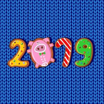 2019 jahr des schweins.