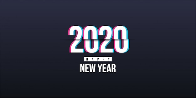 2020 frohes neues banner