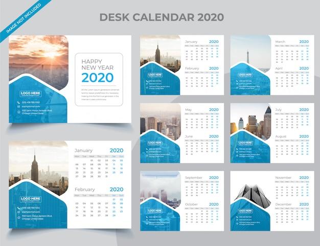 2020 tischkalender vorlage