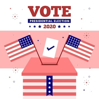 2020 uns präsidentschaftswahlen - konzept