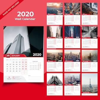 2020 wandkalender vorlage