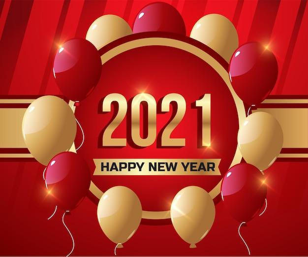 2021 frohes neues jahr urlaub hintergrund