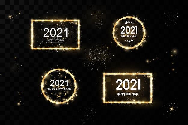 2021 goldenes bannerset