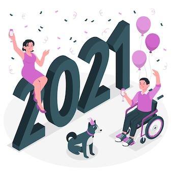 2021 konzeptillustration