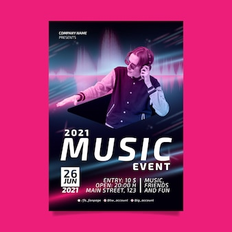 2021 musikereignisplakat