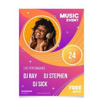 2021 musikfestival plakatgestaltung