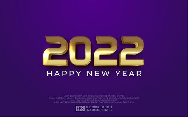 2022 guten rutsch ins neue jahr hintergrund mit goldenen zahlen
