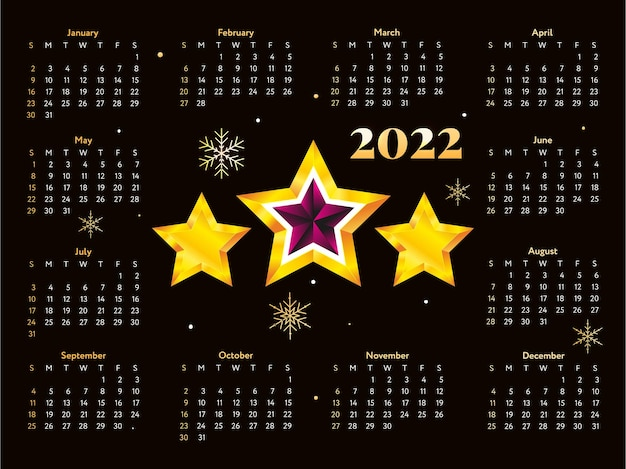 2022 weihnachtsbaum neujahrsskizze kalenderwoche beginnt am sonntag.