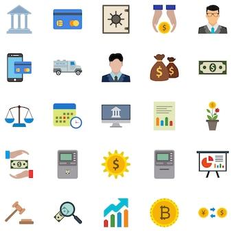 25 banken icons