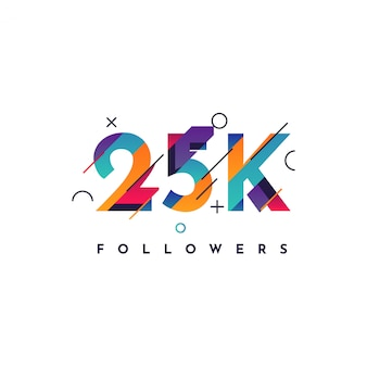 25k follower design