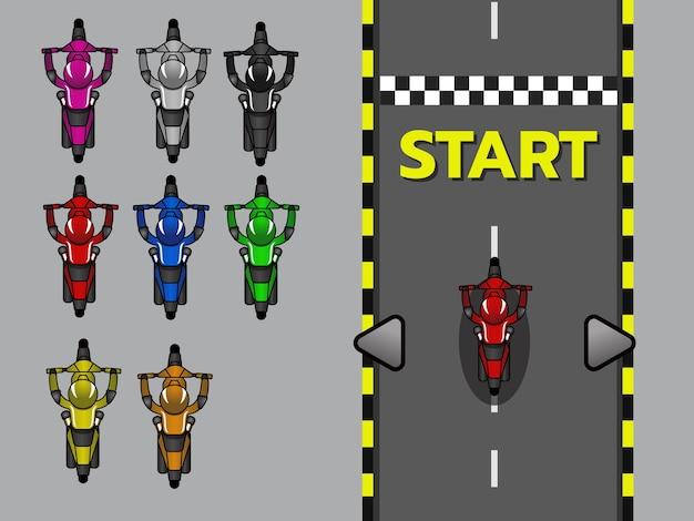2d-game-asset von oben