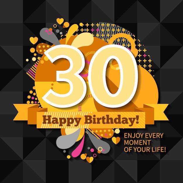 Gluckwunschkarten zum 30 geburtstag kostenlos