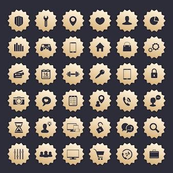 36 icons für web, apps und andere projekte