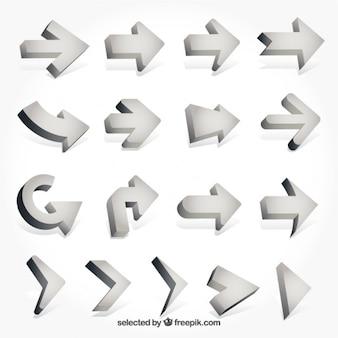 3d arrows collection