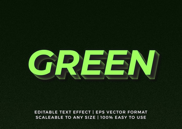 3d bold graphic title texteffekt