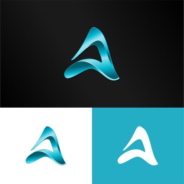 3d brief ein logo