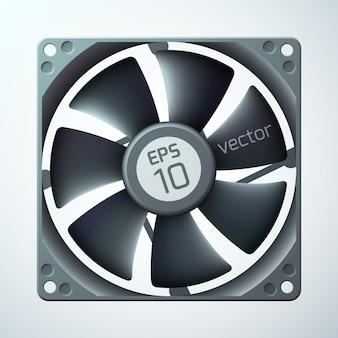 3d-computer-kühler-vorlage