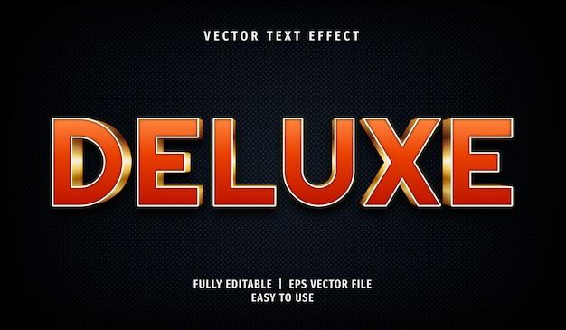 3d-deluxe-texteffekt, bearbeitbarer textstil
