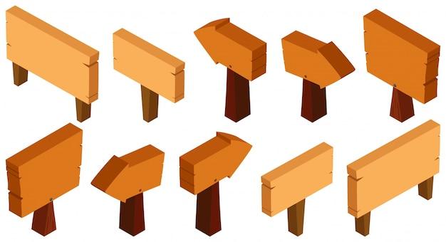 3d-design für holzschilder